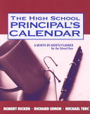 The High School Principal s Calendar