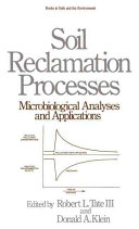 Pdf Soil Reclamation Processes Microbiological Analyses and Applications