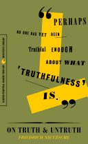 On Truth and Untruth