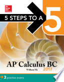 5 Steps to a 5 AP Calculus BC 2017 Book
