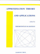 Approximation Theory and Applications