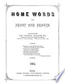 Home Words for Heart   Hearth