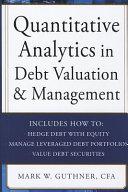 Quantitative Analytics in Debt Valuation   Management Book
