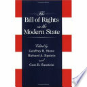 The Bill of Rights in the Modern State