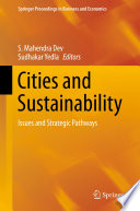 Cities And Sustainability Book PDF