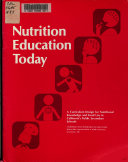 Nutrition Education Today Book PDF