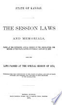 ... Session Laws ..