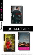 10 romans Black Rose + 1 gratuit (n°486 à 490 - Juillet 2018)