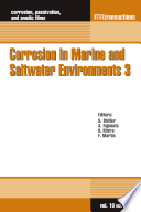 Corrosion In Marine And Saltwater Environments 3 Book PDF