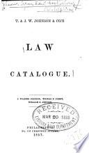 ... Law Catalogue
