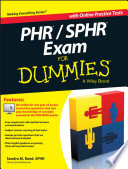 PHR   SPHR Exam For Dummies