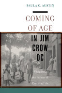 Coming of Age in Jim Crow DC Pdf/ePub eBook