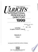 Ulrich's International Periodicals Directory  , Band 37,Ausgabe 4