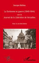 La Sorbonne en guerre (1940-1944)