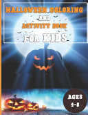 Halloween Activity Book for Kids Ages 4 8 Book PDF