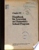 Handbook for Assessing an Elementary School Program