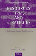 Resources, Firms, and Strategies