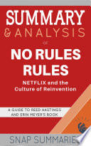 Summary   Analysis of No Rules Rules