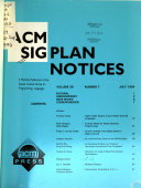 Acm Sigplan Notices