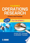 Operations Research (Theory and Practice) (For CA-Final)