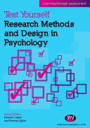 Pdf Test Yourself: Research Methods and Design in Psychology Telecharger