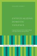 Entextualizing Domestic Violence