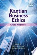 Kantian Business Ethics Book PDF