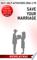 Self help Activators  1056    to save Your Marriage in Simple Steps