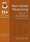 11+ Non-verbal Reasoning Study Book and Parents' Guide for the CEM Test
