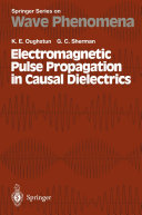 Pdf Electromagnetic Pulse Propagation in Casual Dielectrics Telecharger