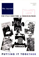 The Journal for Stage Directors   Choreographers Book