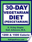 30 Day Vegetarian Diet