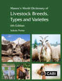 Pdf Mason's World Dictionary of Livestock Breeds, Types and Varieties, 6th Edition Telecharger