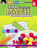 180 Days of Math for Kindergarten: Practice, Assess, Diagnose