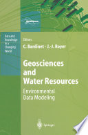 Geosciences and Water Resources  Environmental Data Modeling