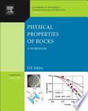 Physical Properties Of Rocks Book PDF