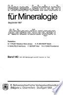 Neues Jahrbuch für Mineralogie