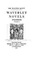 Waverley Novels: Ivanhoe