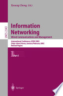 Information Networking: Wired Communications and Management