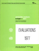 Pesticides Residues in Food, 1977 Evaluations