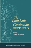 Lymphatic Continuum Revisited Volume 1131 Book PDF