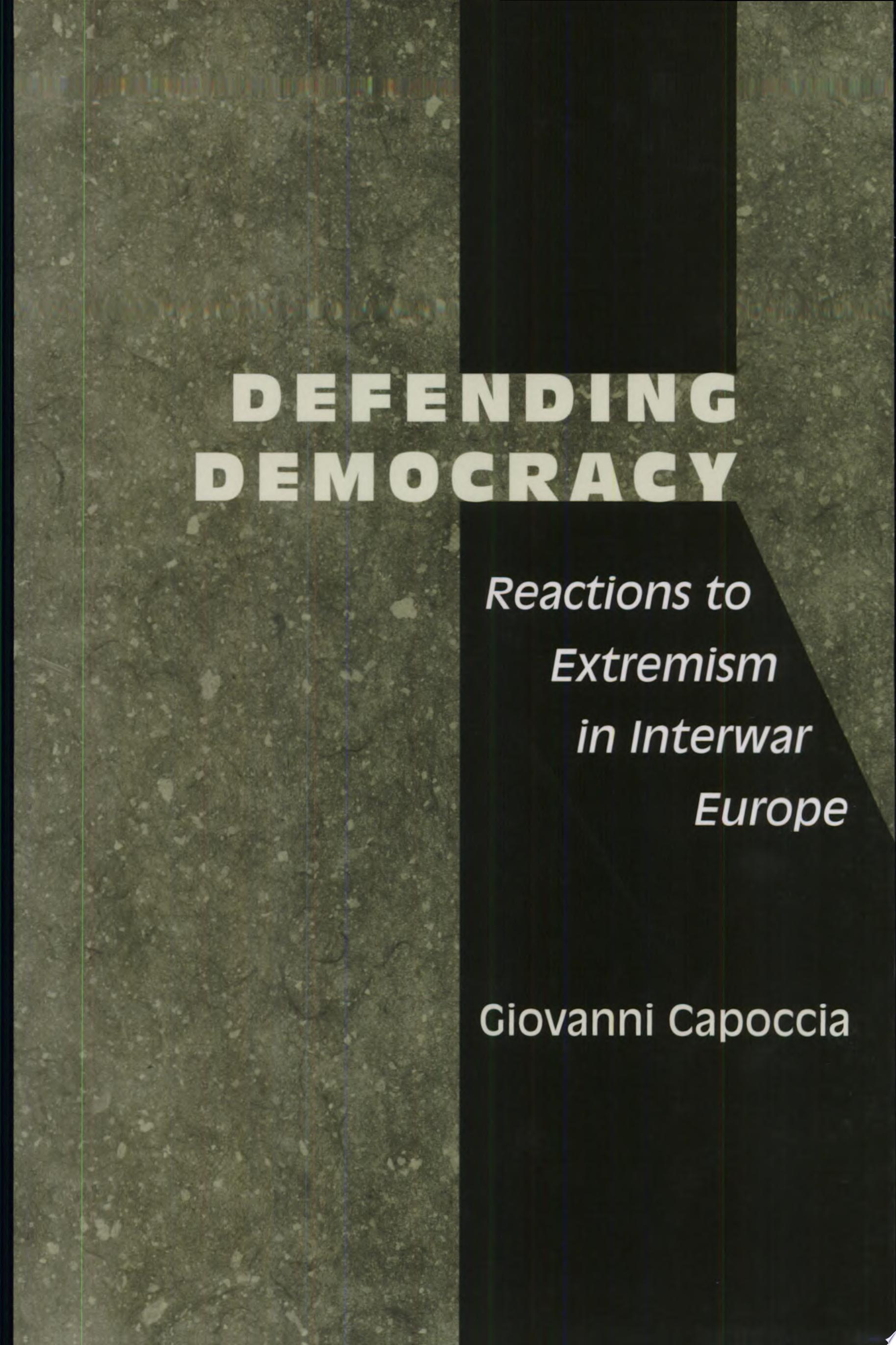 Defending Democracy