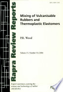 Mixing of Vulcanisable Rubbers and Thermoplastic Elastomers