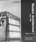 Modern Architecture Since 1900 PDF