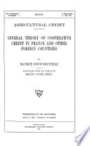 Compilation Of Senate And House Documents Of 62nd Congress On Agricultural Credit Banks 00
