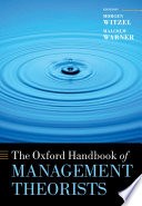The Oxford Handbook of Management Theorists Book PDF