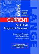 Current Medical Diagnosis & Treatment 2001