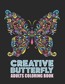 Creative Butterfly Adults Coloring Book