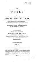 The Works of Adam Smith