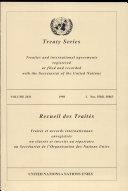 Pdf Treaty Series Volume 2031